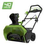 zum Angebot Schneefräse Greenworks 40V – 2600007