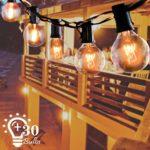 zum Angebot Lichterkette Außen ALEENUN G40 mit 30 Birnen