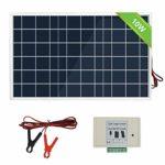 zum Angebot Solarpanel 12 V ECOWORTHY 10W Solarmodul-Kits