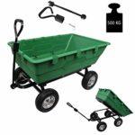 zum Angebot Gartenwagen TRUTZHOLM® Profi 350 Liter 500kg Transportwagen