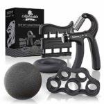 zum Angebot Fingertrainer ALPHASKIN Hand- Unterarm- Fingertrainer [5er Set]