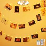 zum Angebot Foto Lichterkette Anpro 50 LED Fotoclips