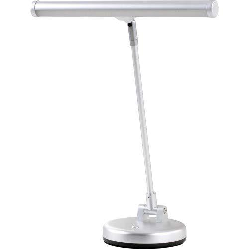 Klavierlampe Gewa 140020 Pianolampe PL15, silber matt