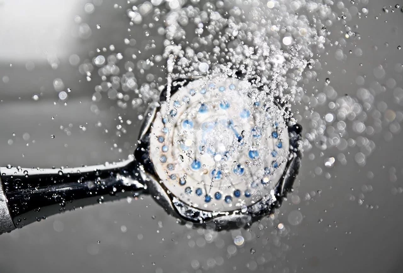 Duschkopf wassersparend
