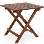 zum Angebot Gartentisch Deuba Beistelltisch Akazie Holz 46×46 cm