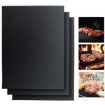 zum Angebot BBQROX Grillmatten 300°C BBQ Antihaft Grill Backmatte Wiederverwendbar Mehrweg Holzkohlegrill, Gasgrills Elektrogrill