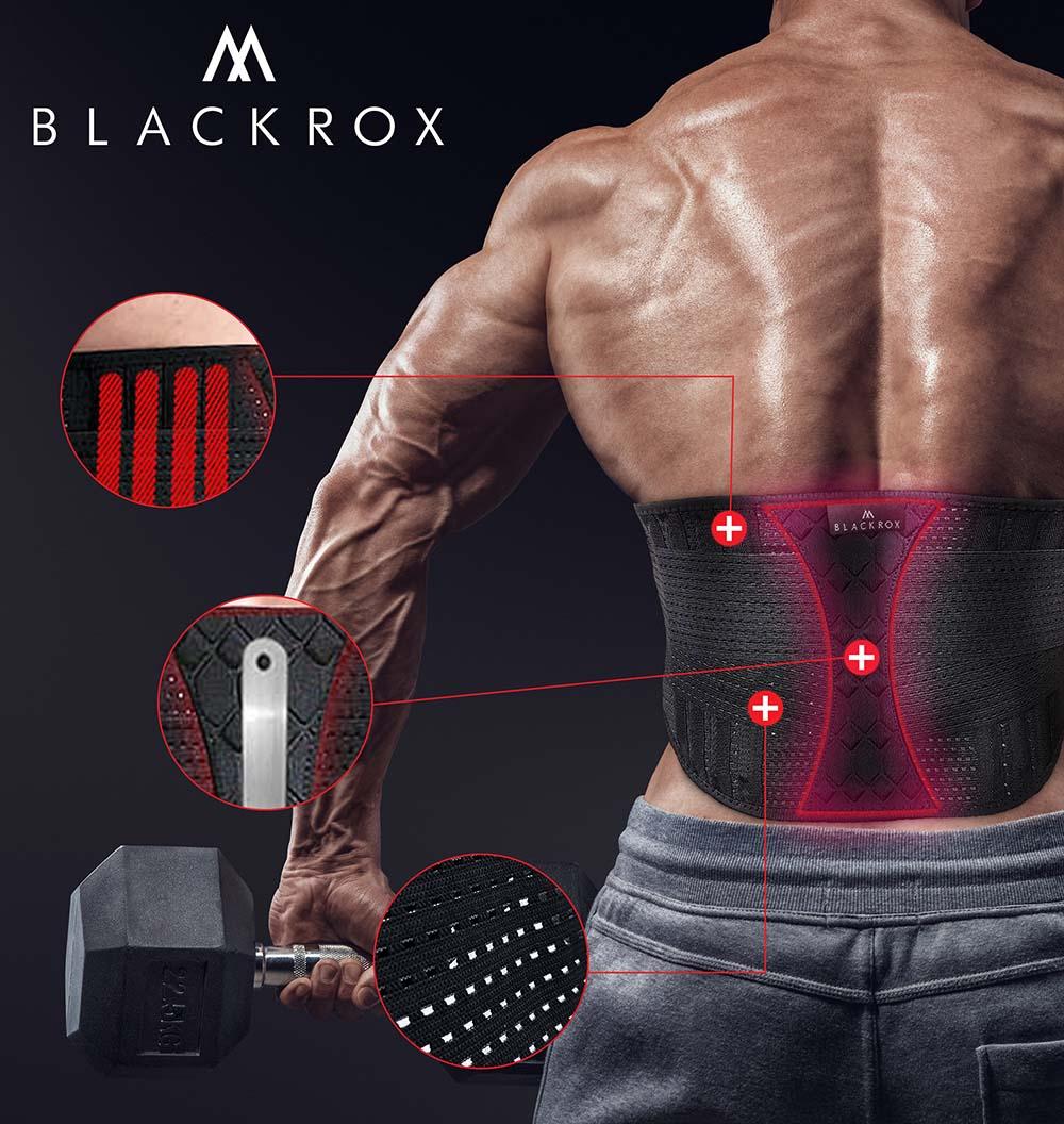 Blackrox Rückenbandage Lumbarox