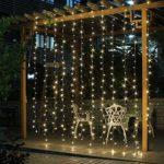 zum Angebot Lichtervorhang SALCAR LED Lichterkette