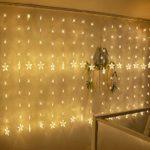 zum Angebot Lichtervorhang Yinuo Mirror Led 80 Sterne