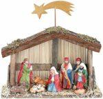 zum Angebot Weihnachtskrippe PEARL handbemalten Figuren