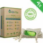 zum Angebot Seifensäckchen iQVita 4 x Sisal Seifen-Säckchen