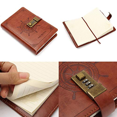 Tagebuch mit Schloss MOHOO