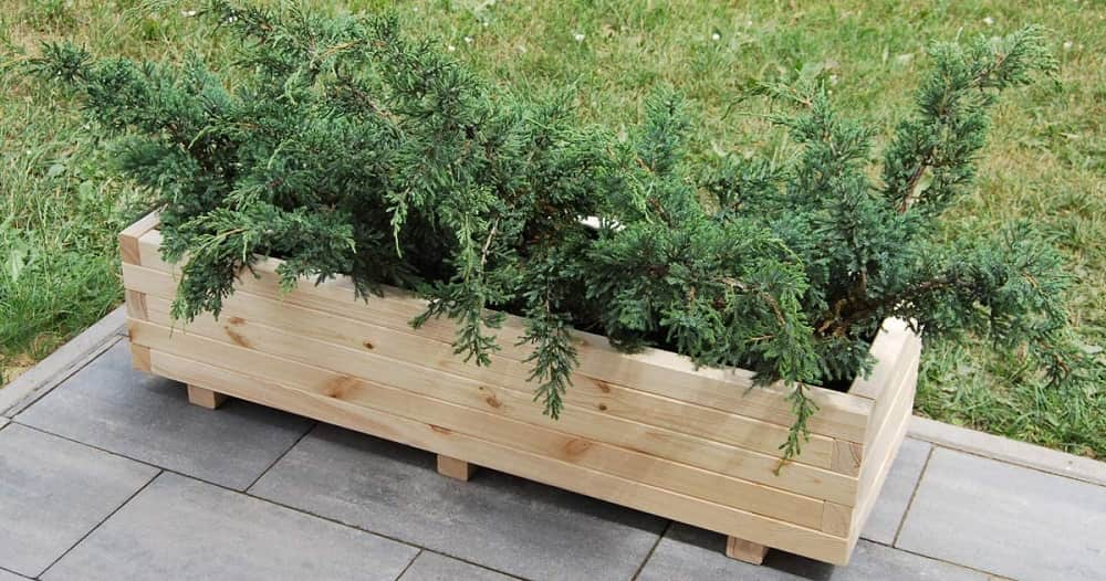 Blumenkasten Holz