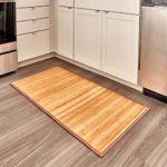 zum Angebot Bambusteppich iDesign rutschfeste Fußmatte