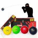 zum Angebot Reflexball YMX BOXING 4 Bälle + 2 Stirnbänder