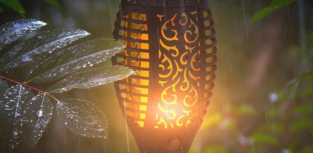 Gartenfackel Solar