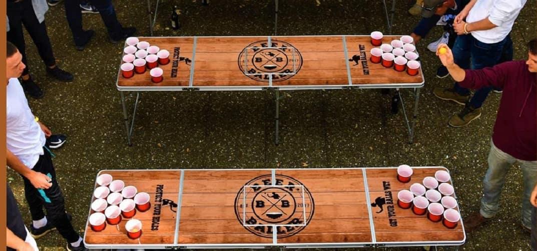 Bier Pong Tisch