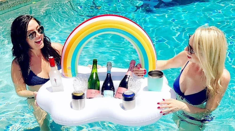 Getränkehalter Pool