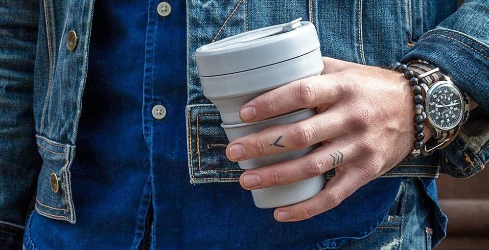 Kaffeebecher faltbar