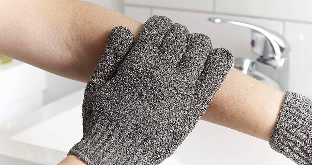 Peeling Handschuhe