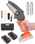zum Angebot Einhandkettensäge MHDYT Mini Kettensäge Elektro